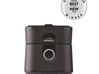Radius Zone Mosquito Repeller from Thermacell  Gen 2 0  Black  No Spray Mosquito Repellent  Rechargeable  Protect Outdoor Areas from Insects for 6 5  Hours Per Charge  Easy to Use  Scent and DEET Free