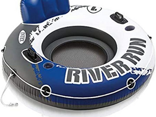Intex River Run I Sport lounge  Inflatable Water Float  53  Diameter
