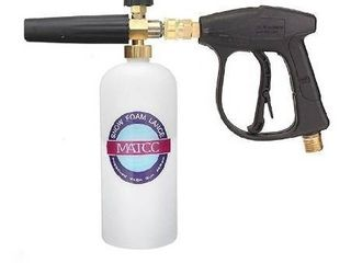 MATCC Foam Cannon Gun 3000 PSI High Pressure Washer Foam Wash Gun Car Washer Gun with M22 14mm Thread