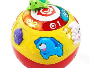 VTech Wiggle and Crawl Ball Multicolor