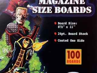 Ultra Pro Magazine Size Boards  Pack of 100