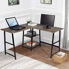 Carbon loft Industrial l shaped Corner Computer Desk  Retail 231 99