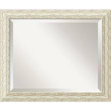 The Gray Barn wilset Cape cod white wash mirror