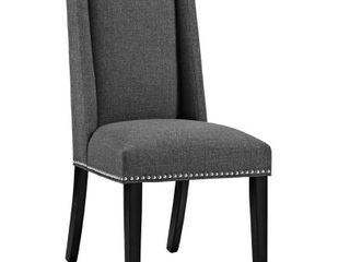 Modway Baron Upholstered Dining Side Chair  Multiple Colors