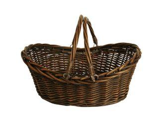 17  Dark Willow Basket