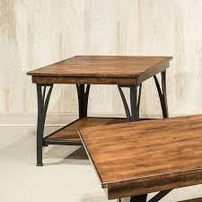 The District Copper Finish 1 shelf End Table  Retail 229 99