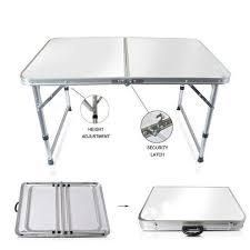 Portable Aluminum BBQ Picnic Party Camp Folding Dining Table 3 Sizes