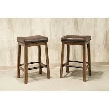 Copper Grove Hanoi Brown 24 inch Backless Bar Stools  Set of 2  Retail 125 99