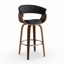 Strick   Bolton Gallagher Mid century 26 inch Counter Stool  Retail 176 99 charcoal