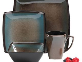 Gibson Select Tequesta 16pc Dinnerware Set Taupe