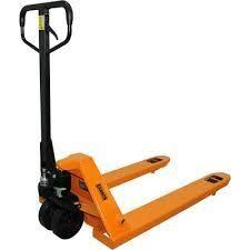 bannon pallet jack orange