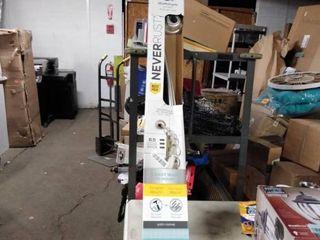 Zenna Home Never Rust Aluminum Shower Rod