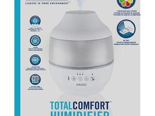 0 5gal Cool Mist Ultrasonic Humidifier with Aroma White   Homedics