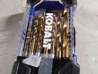 kobalt drill bits set