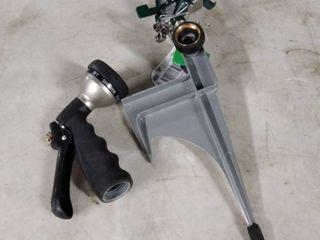 orbit sprinkler and hose sprayer