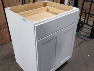 bathroom white cabinet 28 inch wide by 36 inch tall by 24 inch deep