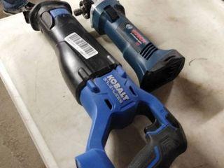 kobalt and bosch tools 2 pc