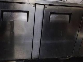 True Stainless Steel 3door Cooler