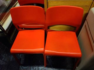 nice lot of  2  Cafe chairs