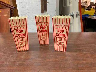 Movie popcorn containers
