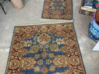 Matching area rugs