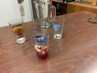 Novelty drinking glasses