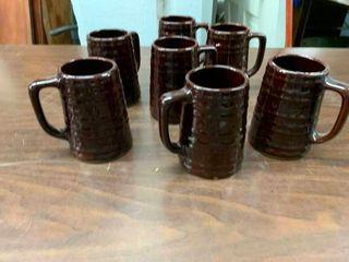 Set of beer mugs