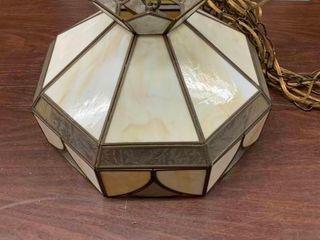 Octagon hanging lamp