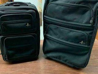 Canvas luggage set