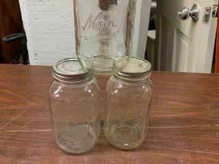 Vintage Kerr canning jars