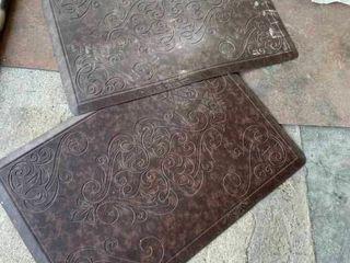 Padded rubber mat