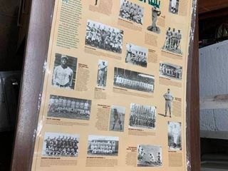 Poster of Negro Baseball league