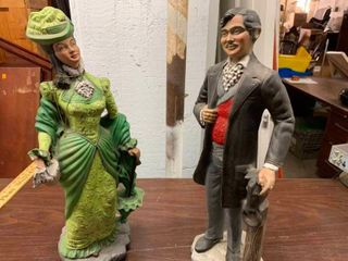 Decorative lawn figurines