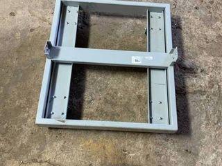 Metal cart frame