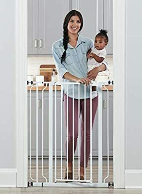 Easy Step Extra Tall Safety Gate  White
