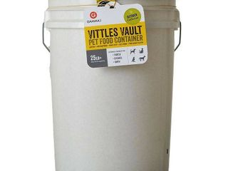 Gamma2 Vittles Vault Airtight Bucket Container for Food Storage  Food Grade and BPA Free   6 Gallon  20 25 lb