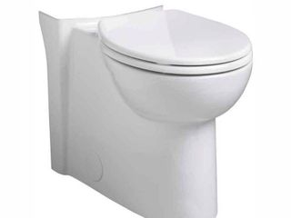 American Standard 3053 000 020 Cadet 3 Concealed Trap FloWise Round Front Toilet Bowl  White