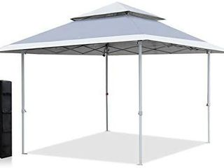 ABCCANOPY 13x13 Canopy Tent Instant Shelter Pop Up Canopy 169 sq ft Outdoor Sun Shade  Gray