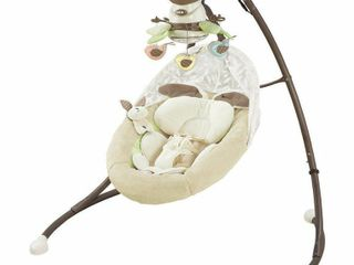 Fisher Price My little Snugabunny Cradle  n Swing with 6 Speeds
