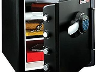 SentrySafe SFW123FUl Fireproof Waterproof Safe with Digital Keypad  1 23 Cubic Feet