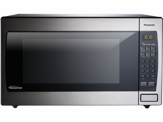 Panasonic NN SN966SR 2 2cuft luxury Microwave with Inverter Technology  MISSING TURN TABlE