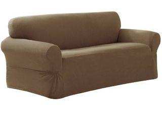Maytex Stretch Pixel 1 Piece Sofa Furniture   Slipcover   Retail 104 99
