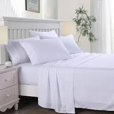 Hotel luxury 6 Piece Bed Sheets Set 2200 Series Platinum Collection Deep Pockets