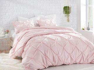 BYB Rose Quartz Pin Tuck Comforter  Retail 82 49