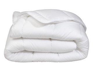 Premium Soft Oversized White All Season Down Alternative Comforter