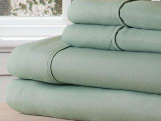 Winsor Home Series 1200 Sage Bed Sheet Set  Twin Xl