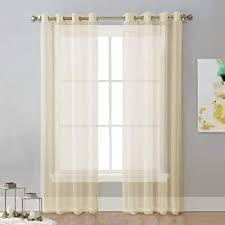kenosha home curtain panels beige floor length