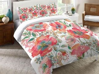 laural Home Boho Florals Comforter  Retail 167 49