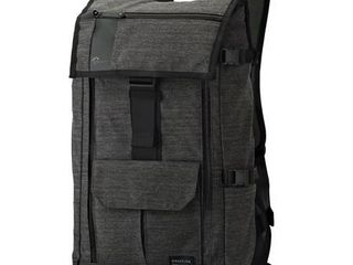 lowepro Streamline BP 250   Backpack for camera with lenses and tablet   notebook   polyurethane  leather  tarpaulin  600D Oxford poly cotton   charcoal gray