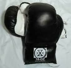 xXx 16 oz Sparring Boxing Gloves  Red